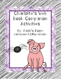 Charlotte's Web Book Companion Activities