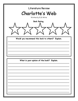 charlottes web book report