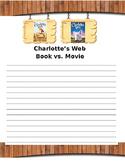 Charlotte's Web Book vs. Movie