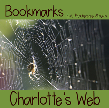 Charlotte's Web: Bookmarks!