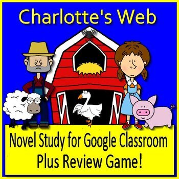 Charlotte's Web Bundle Common Core Aligned Print AND Paperless Google Ready