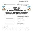 Charlotte's Web Chapter 22 Test