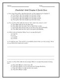 Charlotte's Web Chapter 3 Quick Quiz
