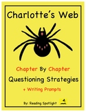 Charlotte's Web:Questions/Writing Strategies For Each Chap