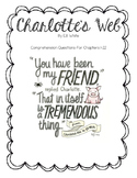 Charlotte's Web Chapter Comprehension Questions