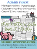 Charlotte's Web Novel Study- Reading Comprehension - Story Elements