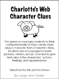 Charlotte's Web Character Clue Game