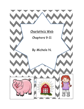 Charlotte's Web Comp.Ques. Chap 9-11(Text evidence skills/