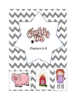 Charlotte's Web Comp. Questions Chap. 6-8 (some similar to PARCC)