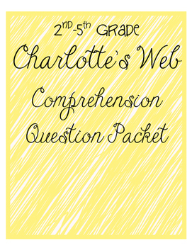 Charlotte's Web Complete Comprehension Pack