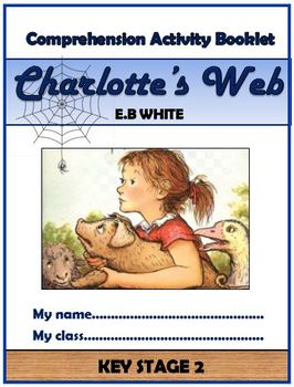 Charlotte's Web Comprehension Activities Booklet!