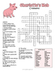 Charlotte's Web Crossword Puzzle