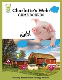 Charlotte's Web Game Boards