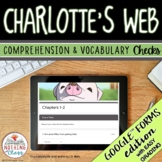 Charlotte's Web | Google Forms Edition | Novel Study Distance Learning