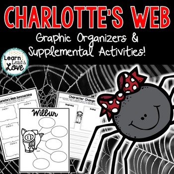 Charlotte's Web Supplemental Comprehension Activities