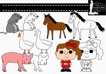 Barn Animal Clip Art