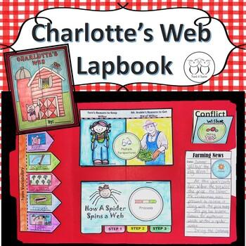 Charlotte's Web Interactive Lapbook