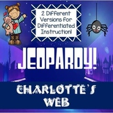 Charlotte's Web Jeopardy Review Game
