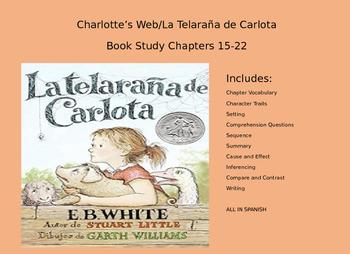 Charlotte's Web/ La Telarana de Carlota Book Study 15-22