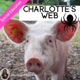 Charlotte's Web Novel Study for Special Education