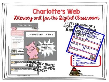 Charlotte's Web Literacy Unit for the DIGITAL Classroom