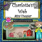 Charlotte's Web Mini Theater-Craftivity