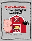 Charlotte's Web Novel Analysis Activities