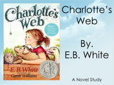 Charlotte's Web Novel Study FREE!!