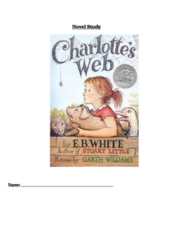 Charlotte's Web Novel Study Comprehension Booklet