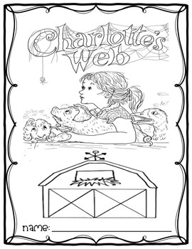 Charlotte's Web Novel Study Cover