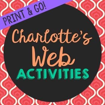 Charlotte's Web by E.B. White Novel Unit Study Activities,