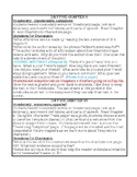 Charlotte's Web Novel Study Lesson Plans for Ch. 5 and 6
