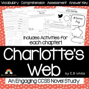 Charlotte's Web Novel Study Unit