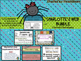 Charlotte's Web Novel Study - BUNDLE -2nd & 3rd Grade