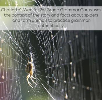 Charlotte's Web: Novel Work for Grammar Gurus