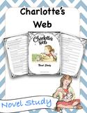 Charlotte's Web Novvel Study