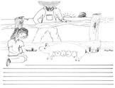 Charlotte's Web Open-Ended Illustrated Comprehension Worksheets