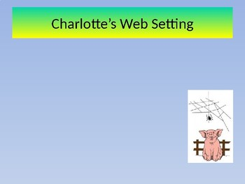 Charlotte's Web Powerpoint Presentation Template