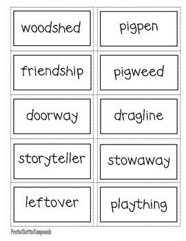 Charlotte's Web- Prefix, Suffix, Compounds