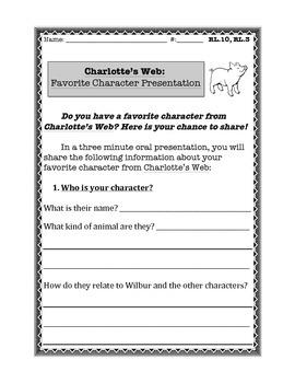Charlotte's Web Presentation Template