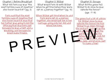 Charlotte's Web Read Aloud Write Along Book Study