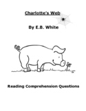 Charlotte's Web Reading Comprehension Questions