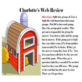 #ChristmasinJuly Charlotte's Web Review Game