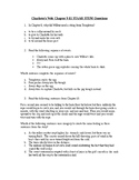 Charlotte's Web STAAR Stem Questions Chapter 9-11
