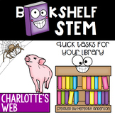 STEM Activities for Charlotte's Web - Bookshelf STEM