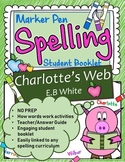 Charlotte's Web Spelling Booklet US Version