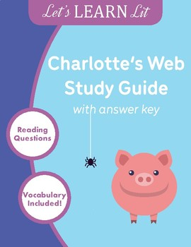 Charlotte's Web Study Guide with Key