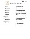Charlotte's Web Test (Ch.5-9)