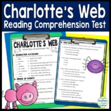 Charlotte's Web Test: Final Book Quiz with Answer Key