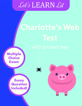Charlotte's Web Test with Answer Key
